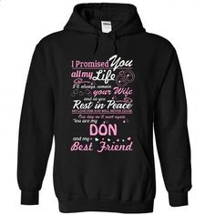 I Love My DON - #tshirt frases #black sweater. CHECK PRICE => https://www.sunfrog.com/LifeStyle/I-Love-My-DON-2199-Black-27423261-Hoodie.html?68278