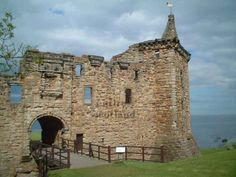 St Andrews Castle, Scotland The apostle Andrew patron of Scotland... Saint of rank and file..Saint of people not ashamed to be hard working class