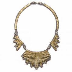 Suzanna Dai Casablanca Wing Necklace