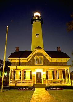 St. Simons Island, GA - Lighthouse