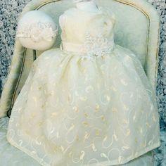 TRINITY flower girl silk dress by Elena