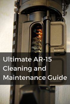 We'll show you how to easily tear your rifle apart, clean it in depth, and put it all back together without fear of damaging or leaving out anything.
