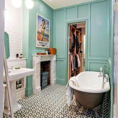 (via Adding Pattern: 5 Terrific Tile Floors | Apartment Therapy)
