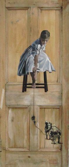 Intriguing Old Paintings on Worn Doors - My Modern Metropolis