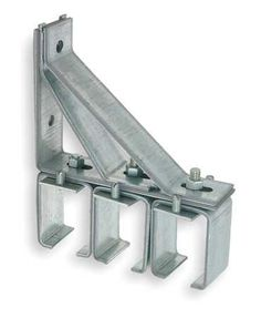 Sliding Door Track, Hangers, and Brackets Triple Bracket-Splice,8 1/4x by VALUE BRAND. $88.79. Triple Bracket-Splice, Steel, Galvanized Finish, Length 1 3/4 In., Height 8 1/4 In., Width 6 3/4 In., Hardware Included, For Use With Joining Railing Sections, Adjustable