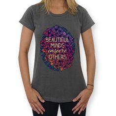 Camiseta Beautiful Minds de @jurumple | Colab55