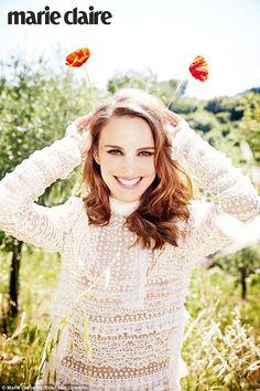 Natalie Portman by Ellen von Unwerth for Marie Claire UK September 2015 - Valentino Fall 2015