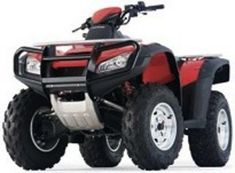 2003 - 2005 HONDA TRX650FA RINCON ATV QUAD ( 2003 2004 2005 03 04 05 ) -  DIY SERVICE / REPAIR / SHOP MANUAL - ( TRX 650 FA ) - 91116514 and 99107118 and 111034526