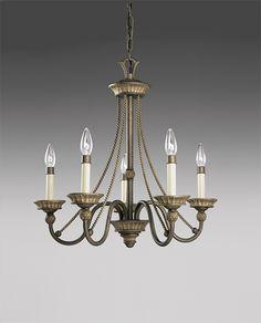 Savannah Collection Burnished Chestnut 5-Light Chandelier - http://chandelierspot.com/savannah-collection-burnished-chestnut-5light-chandelier-541042305/