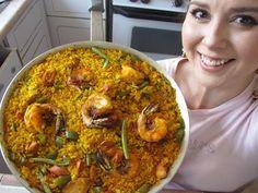 La Paella del famoso restaurante Cafe de Chinitas en Madrid, receta y elaboracion - YouTube
