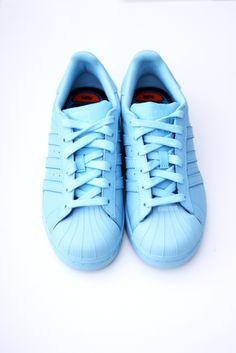 adidas supercolor azul