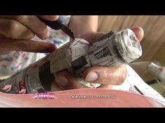 Aprenda a Papietagem em garrafa! - YouTube