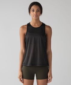 Release Date: 2/2017. Original Price: $58. Materials: Mesh. Color: black. We designed this training tank to take you from high-intensity sweat dates to squad coffee dates. MeshMesh fabric is breathable, four-way stretch, and anti-stinkbreathablefour-way stretchanti-stink