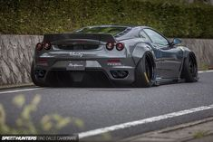 Ferrari F430 Gets Lots Of Visual Drama From Liberty Walk