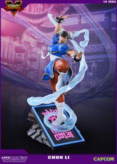 Street Fighter V CHUN LI 1:6 Scale Statue – Retail Version