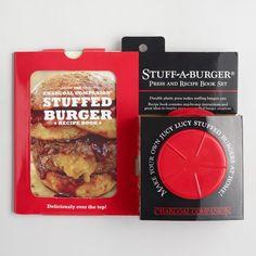 Stuff a Burger Press and Recipe Book Kit  https://api.shopstyle.com/action/apiVisitRetailer?id=602971101&pid=uid8100-34415590-43