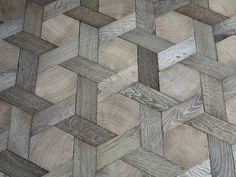 Geometric Parquet Flooring, French Style