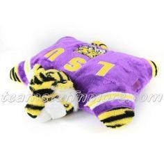 LSU TIGERS pillow pet