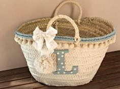 Cesta Lucia1 Art Bag, Boho Bags, Basket Bag, Crochet Shoes, Basket Decoration, Ibiza, Knitted Bags, Hobbies And Crafts, Handmade Bags