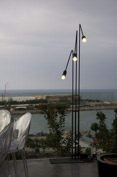 Lighting by PSLab for Suzy Nasr on Iris Cocktail Bar and Restaurant, Beirut.