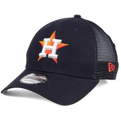 c6abcf936af New Era Houston Astros Team Trucker Patch 9FORTY Snapback Cap ( 20) ❤ liked  on