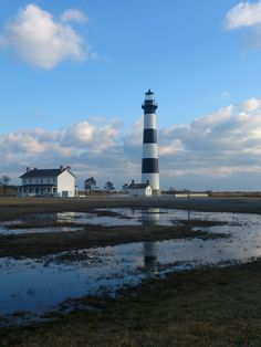 Bodies island light, outer banks NC