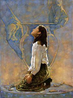 Ron DiCianni Only Jesus can set me free from bondage! Christian Paintings, Christian Artwork, Christian Images, Christian Faith, Lds Art, Bible Art, Art Prophétique, Arte Lds, Image Jesus