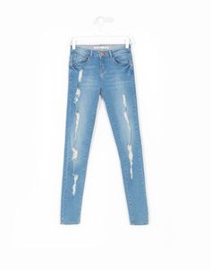 DENIM WOMEN COLLECTION SLIM Lefties España ROTOS Jeans JEANS Todos XIzYxx