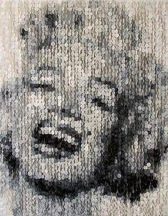 Un arte que comenzó con la caja de costura de su abuela - Yahoo Noticias