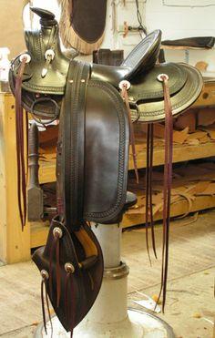 Repro Saddle 1870's