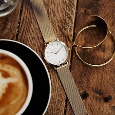 Perfect morning combo #gold #mercer #rosefield #rosefieldwatches #amsterdam #newyork #nyc