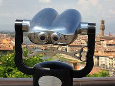 Undoubtedly the best Binocular view of Florence by B℮n, via Flickr
