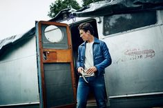 because its Miles Teller, and hes infront of a airstream #myfav