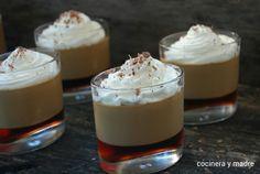 Esta es una receta casera y sencilla de una panna cotta de café con gelatina de caramelo un postre buenísimo sin ninguna complicación, vistoso Te encantará
