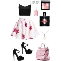 A fashion look from March 2015 featuring Boutique tops, KG Kurt Geiger sandals and Dolce&Gabbana tote bags. Browse and shop related looks. Boutique Tops, Kurt Geiger, Fashion Looks, Shoe Bag, Polyvore, Pink, Stuff To Buy, Tote Bags, Shopping