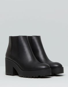 HIGH HEEL ANKLE BOOTS - BOOTS AND ANKLE BOOTS - FOOTWEAR - PULL&BEAR Ireland