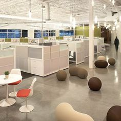 Company that offers free consultation for modern office design- no cubicles.