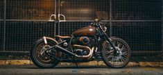"""Copperhead"" Bobber, Harley Davidson, Twins, Motorcycle, Vehicles, Gemini, Rolling Stock, Motorcycles, Motorbikes"