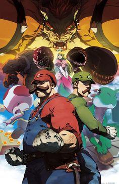 Anime Super Mario Universe