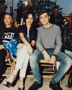 Martin Garrix and Camila Cabello at Tommy Hilfiger LA Fashion show