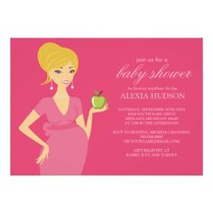 Baby Shower Invitations {Pink}