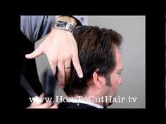 How To Cut Men's Hair - Men's Scissor Haircut
