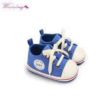 9b1392b186c8 Baby Shoes 2017 Infant first walkers Tollder Canvas Shoes Lace-up Baby  Girls Sneaker Prewalker