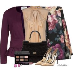 Brown Eyed Girl by stylesbyjoey on Polyvore
