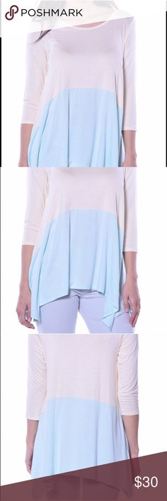 ‼️LOWEST PRICE for Pastels clothing tunic NO TRADING FOR THIS ITEM New, no stains, no fading, smoke free home   Same day or next day shipping (depending on time and day of the week)  Discounts &  cheaper shipping on bundled items Pastels Clothing Tops Tunics