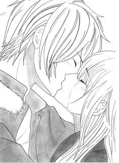 "Kiss scène, tiré du manga""In Love With You"" :3 <3"