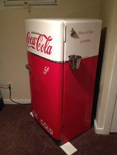 Antique Coca Cola Fridge Steven Would Love If We Had
