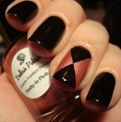 I never like black nails but I do think there's a dressy way to do em that makes it a little better
