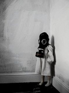 Only a Child by #TOIYI... inspiration for flower girl in a gas mask? LOL