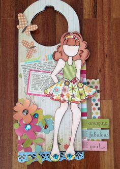 Door hanger - Prima Doll